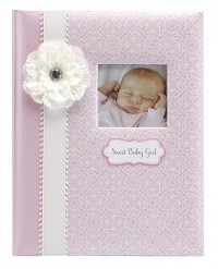C.R.Gibson Loose-Leaf Baby Memory Book - Bella