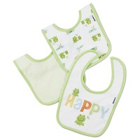 Gerber 2 Ply Terry Bibs - Neutral - 3 Pack