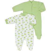Gerber Baby Snap Front Sleep 'N Play - Neutral - 0-3 Months