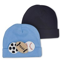 Gerber Baby Caps - Sports - Boys 12-24 Months - 2 Pack