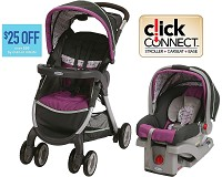 Graco Baby FastAction™ Fold Click Connect™ Travel System, Nyssa