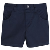 French Toast Toddler Girl Pull-On Short, Navy