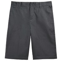 French Toast Adjustable Waist Shorts, Grey