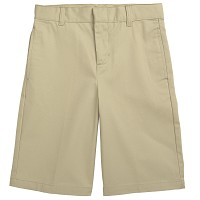 French Toast Adjustable Waist Shorts, Khaki