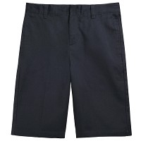 French Toast Adjustable Waist Shorts, Navy