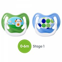 Dr.Brown's® PreVent Unique Pacifier Stage 1, 0-6 Months BPA-Free