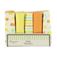 Baby Starters® Washcoths 10-Pack Assortment