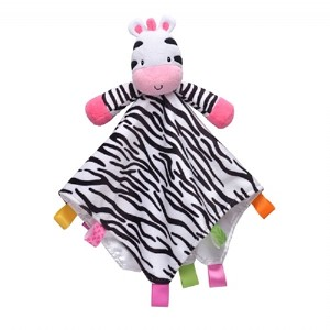 Taggies� Plush Security Blanket Zebra-Girl