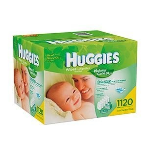Huggies Natural Care Baby Wipes 1120 Count