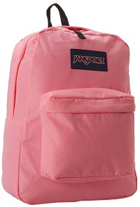 Jansport Superbreak Backpack Pink Pansy