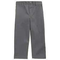 French Toast Toddler Boy's Pull On Pants, Grey