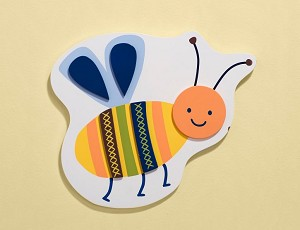 Kids Line Cute as a Bug Wall Art 3D