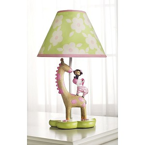 Kidsline Jungle Jill Lamp & Shade By Carter's