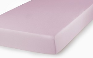 Kids Line Sateen Mid Fitted Sheet Pink