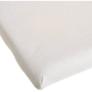 Kids Line Easy-Fit Knit Cradle Sheet Ecru