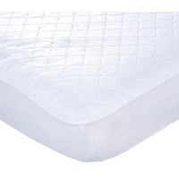 "Kids Line Carter's Keep Me Dry Quilted Crib Pad 28""x52"" White"