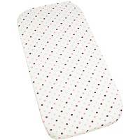 Kids Line Changing Pad Cover Pink / Green Dot