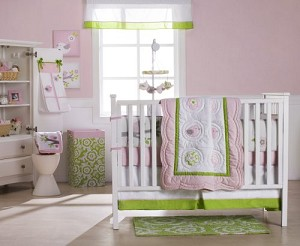 Carter's Sweet Songs 5 Piece Crib Set