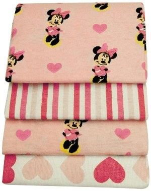 Disney Minnie 4-Pack Receiving Blanket