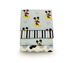 Disney Mickey 4-Pack Receiving Blanket