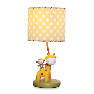 Kids Line Safari Party Lamp Base & Shade