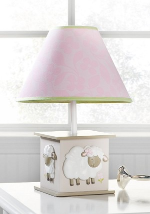 Kids Line Sweet Dreams Lamp Base & Shade