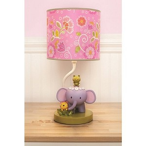 Kids Line Blossom Tails Lamp Base & Shade