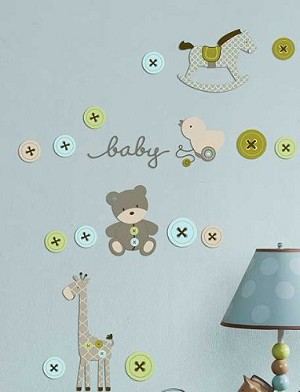 Kids Line Toyland Wall Decals