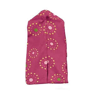 Bedtime Originals Pink Butterfly Diaper Stacker