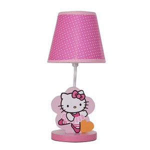 Bedtime Originals Hello Kitty Ballerina Lamp w/Shade & Bulb