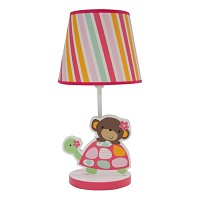 Bedtime Originals Jungle Sweeties Lamp w/Shade & Bulb