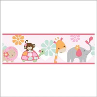 Bedtime Originals Jungle Sweeties Wall Paper Border
