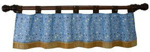 Lambs & Ivy S.S Noah Window Valance