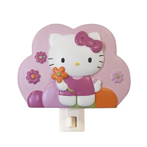 Lambs & Ivy Hello Kitty Garden Night Light