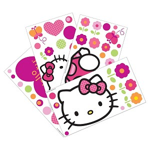 Lambs & Ivy Hello Kitty Garden  Wall Appliques