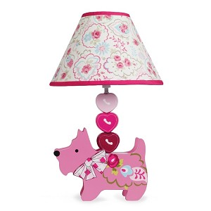 Lambs & Ivy Puppy Tales Lamp Base & Shade