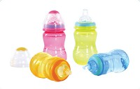 Nuby Non-Drip™ Bottles 7oz - 3 Pack