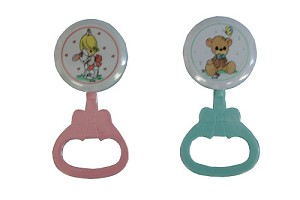 Nuby Precious Moments� Teething Rattle
