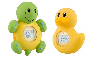 Nuby Bath Time Clock and Thermometer
