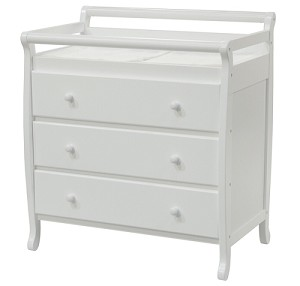 DaVinci 3 Drawer Emily Changer in White