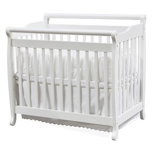 DaVinci Mini Portable Crib Emily in White