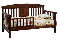 DaVinci Elizabeth II Convertible Toddler Bed In Espresso