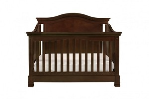 Million Dollar Baby Louis 4 in 1 Convertible Crib with Toddler Rail, Espresso