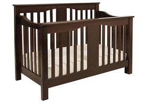 DaVinci Annabelle 4-in1 Convertible Crib in Espresso With Toddler Rail
