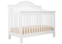 DaVinci Jayden 4 in 1 Convertible Crib with Toddler Rail, White