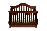 Million Dollar Baby Classic Ashbury 4 in 1 Crib with Toddler Rail, Espresso