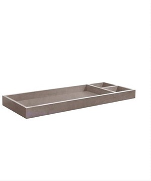 Franklin & Ben Mason Removable Changer Tray in Weathered Grey