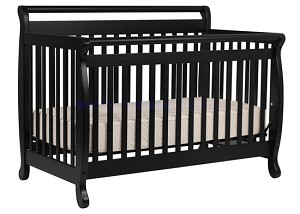 Million Dollar Baby Emily 4 in 1 Crib in Ebony
