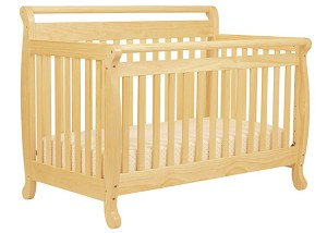 Million Dollar Baby Emily 4 in 1 Crib in Natural