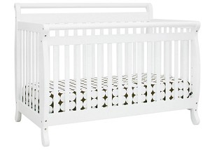 Million Dollar Baby Emily 4 in 1 Crib in White
